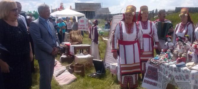 Делегация Никольского района приняла участие в мордовском национальном празднике «Шумбрат»