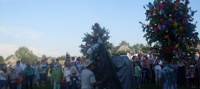 Фольклорный праздник в селе Большое Пермиёво