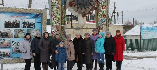 Туристы из Лунинского района