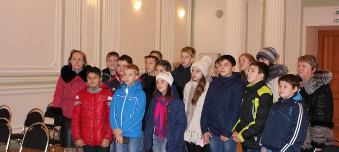 Туристы из Неверкинского района