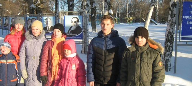 Экскурсия по аллее Почетных граждан «Славные люди города Никольска»