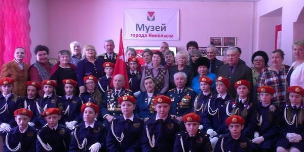 В Никольском районе прошла общественно-патриотическая акция «Знамя Победы»