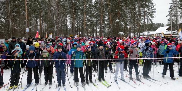 В Никольске состоялся массовый лыжный пробег в поддержку Всероссийской массовой акции «Лыжня России – 2017»