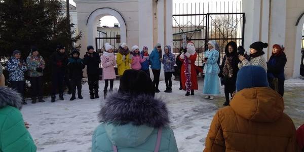 На территории Никольского района прошла акция «Зимние забавы»