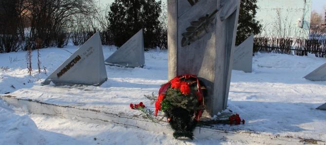 Экскурсия к памятнику воинам-интернационалистам
