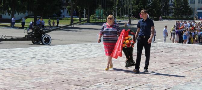 В Никольском районе прошли мероприятия, посвященные Дню памяти и скорби