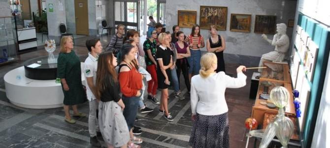 Никольск посетили студенты 3 курса Пензенского художественного училища им. К.А. Савицкого