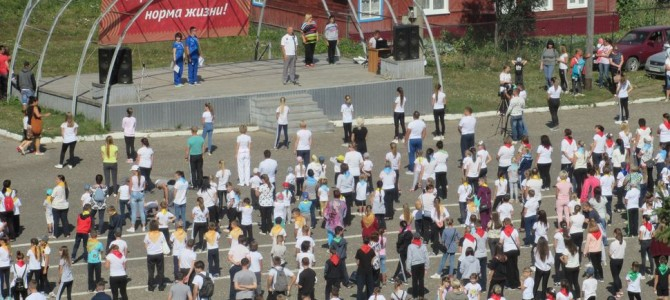 В городе Никольске прошла массовая зарядка