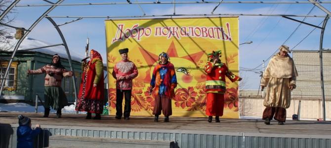 В Никольском районе прошли праздничные мероприятия, посвященные празднику «Масленица»
