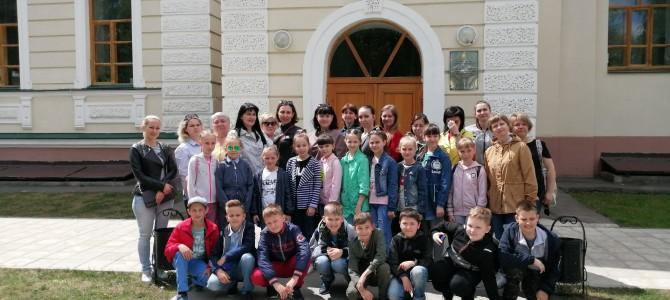 Гости из села Засечное