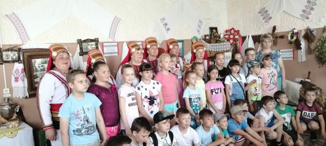 Никольские школьники в гостях у «Эрзяночки «