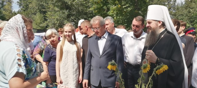 Делегация Никольского района приняла участие в областном празднике православной культуры «Спас»