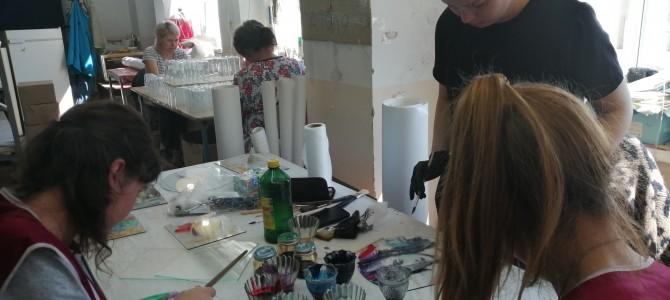 В городе Никольске продолжает свою работу симпозиум по художественному стеклу и скульптуре