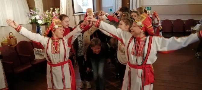 Село Карамалы посетили школьники из города Пенза