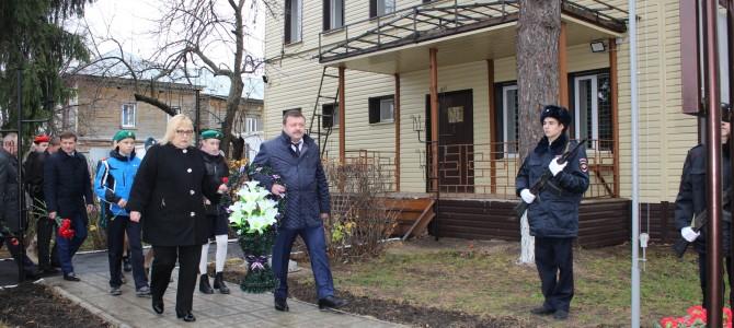 В городе Никольске состоялась торжественная церемония открытия мемориальной доски памяти Квышко Владимира Прокофьевича