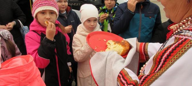 Учащиеся  школы №4 города Никольска посетили село Карамалы