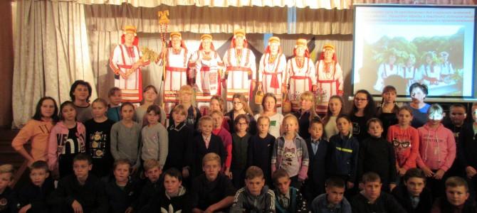 Гости из села Новое Шаткино Камешкирского района