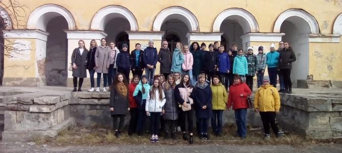 Туристы из города Белинский