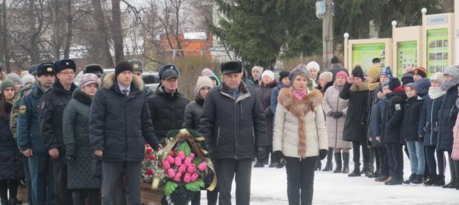 В Никольском районе почтили память Героев Отечества