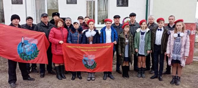 В рабочем поселке Сура и селе Ильмино состоялись торжественные церемонии открытия мемориальных досок памяти Андрею Волкову и Ивану Антошину