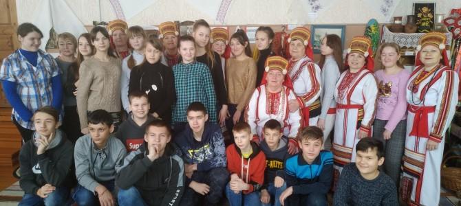 Село Карамалы посетили учащиеся МБОУ СОШ ст. Ночка