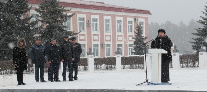 В городе Никольске прошел праздничный митинг, посвящённый Дню защитника Отечества