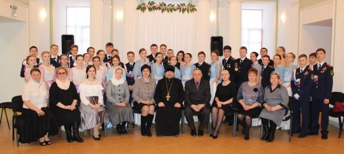 В городе Никольске прошел Сретенский бал.