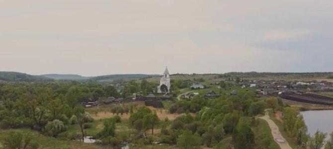 Съемочная группа телеканала ОТР рассказала о селе Ахматовка