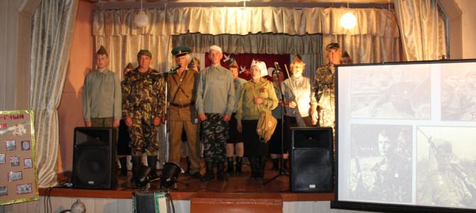 В селах Никольского района Нижний Шкафт и Казарка прошла районная акция патриотический эшелон памяти «Никольский район — родина героев»