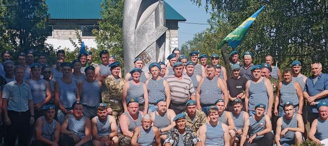 В городе Никольске прошло праздничное мероприятие, посвященное Дню Воздушно-десантных войск