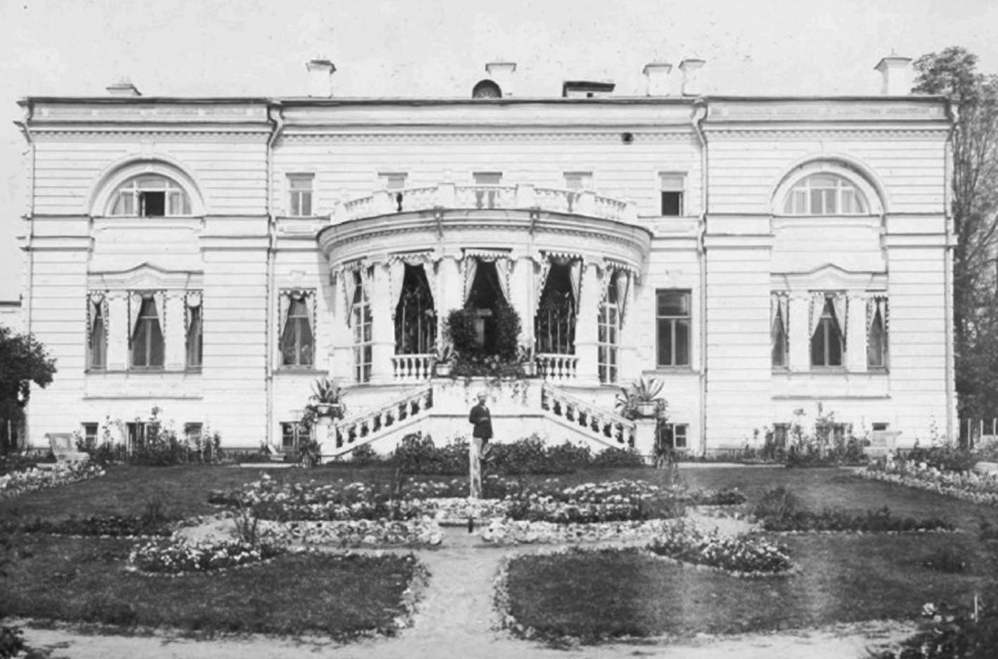 Дом Бахметевых-Оболенских старое фото