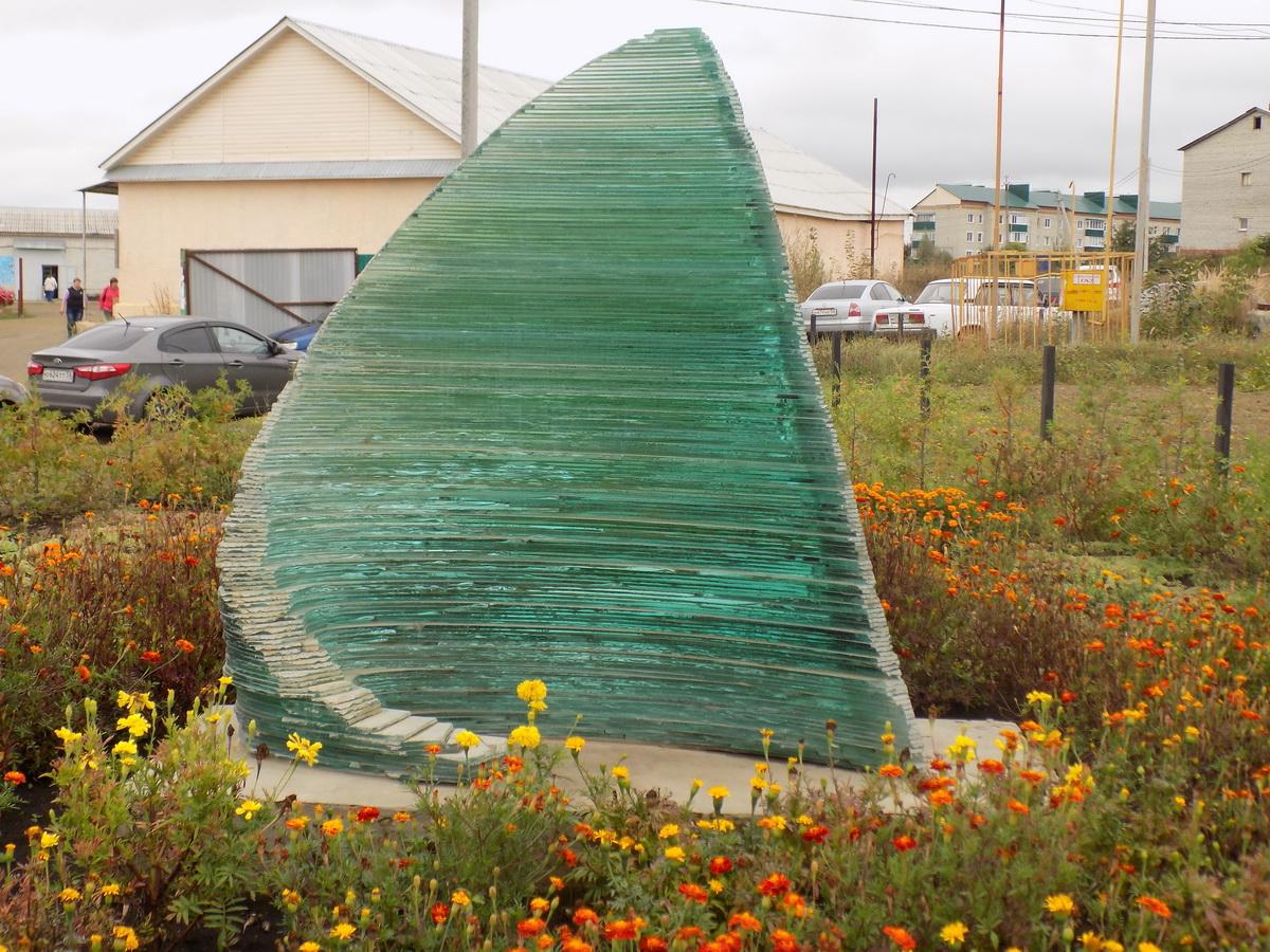 Скульптура Парус 2
